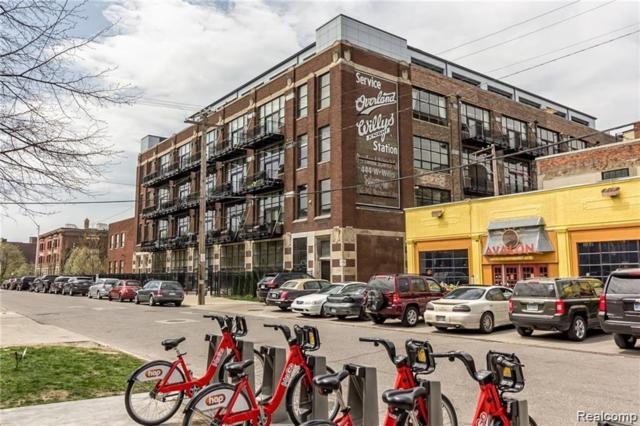444 W Willis St Unit#417, Detroit, MI 48201 (MLS #219050268) :: The Tom Lipinski Team at Keller Williams Lakeside Market Center