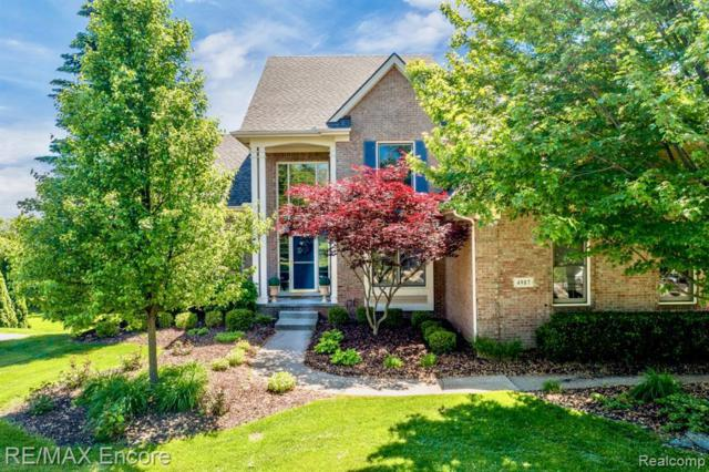 4987 Highland Crt, Clarkston, MI 48348 (MLS #219052908) :: The Tom Lipinski Team at Keller Williams Lakeside Market Center