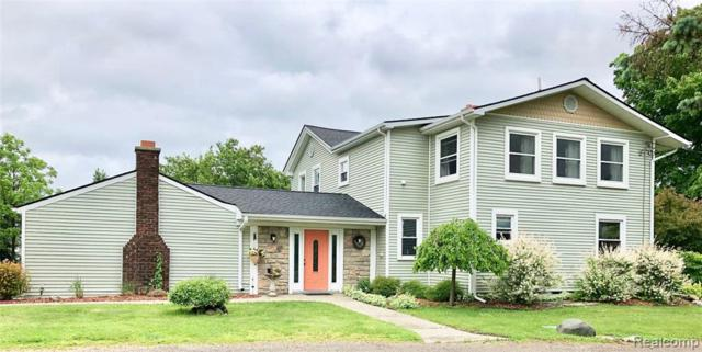 12079 Hill Rd N, Goodrich, MI 48438 (MLS #219055957) :: The John Wentworth Group