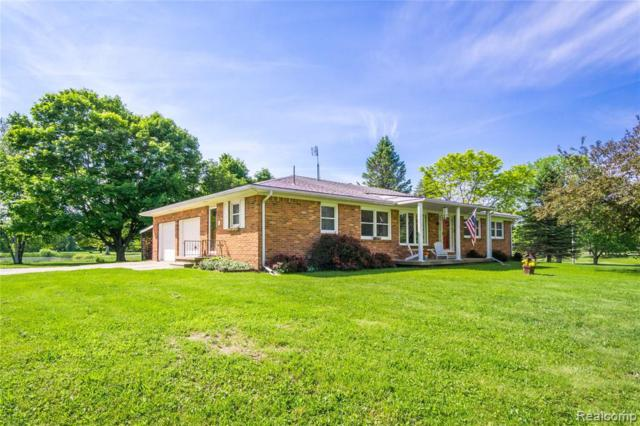 12026 Coolidge Rd, Goodrich, MI 48438 (MLS #219057191) :: The John Wentworth Group