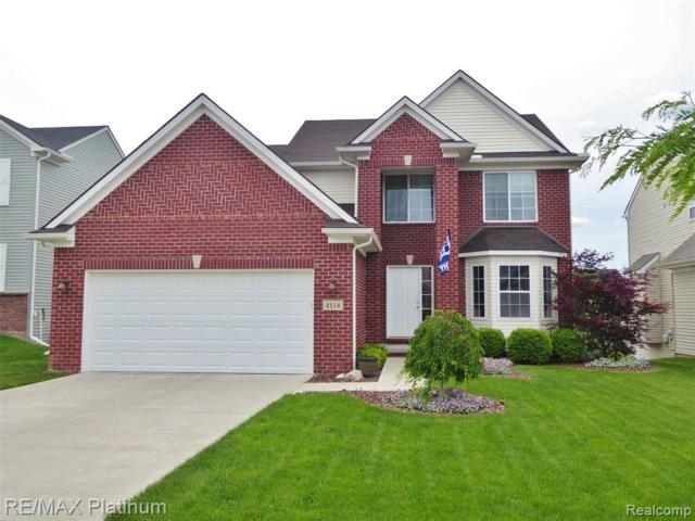 4114 Ash Tree Ln, Howell, MI 48843 (MLS #219057583) :: The John Wentworth Group
