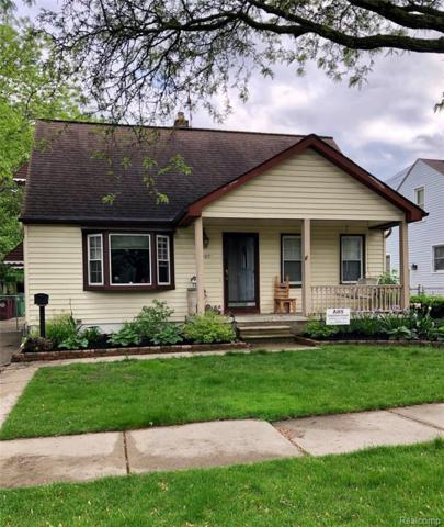 13489 Commonwealth St, Southgate, MI 48195 (MLS #219048086) :: The John Wentworth Group
