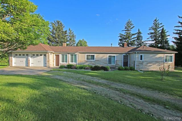 8340 Baldwin Rd. Rd, Goodrich, MI 48438 (MLS #219057864) :: The John Wentworth Group