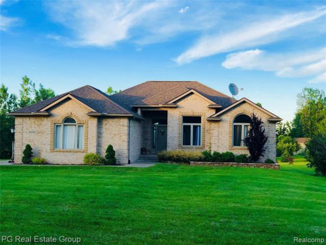 4969 Sandhill Rd, Almont, MI 48003 (MLS #219062706) :: The John Wentworth Group