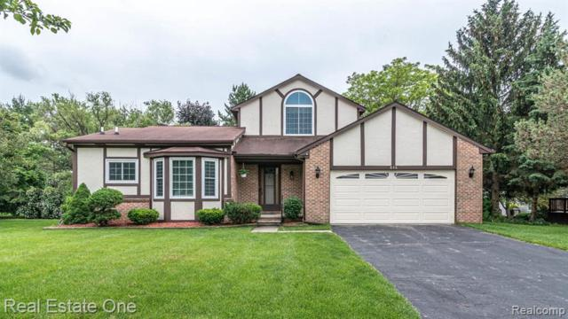 836 Downy Nest, South Lyon, MI 48178 (MLS #219063108) :: The Tom Lipinski Team at Keller Williams Lakeside Market Center