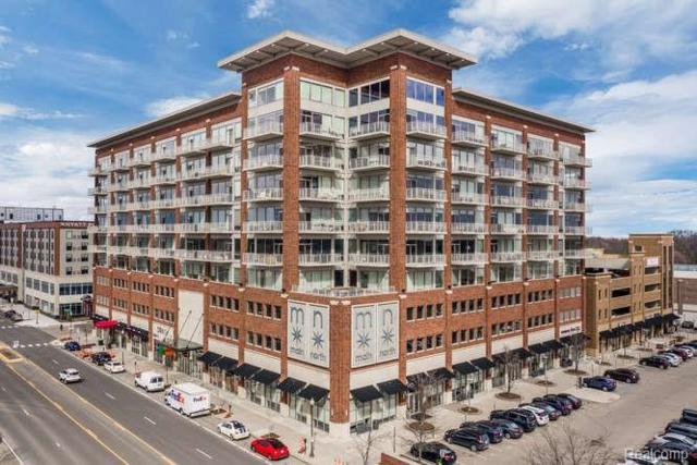 350 N Main St Unit#505, Royal Oak, MI 48067 (MLS #219068663) :: The Tom Lipinski Team at Keller Williams Lakeside Market Center