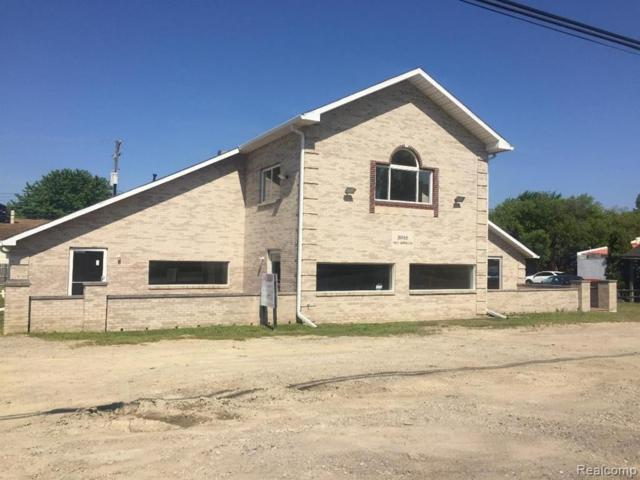 31966 W Jefferson Ave, Brownstown, MI 48173 (MLS #219070064) :: The Tom Lipinski Team at Keller Williams Lakeside Market Center