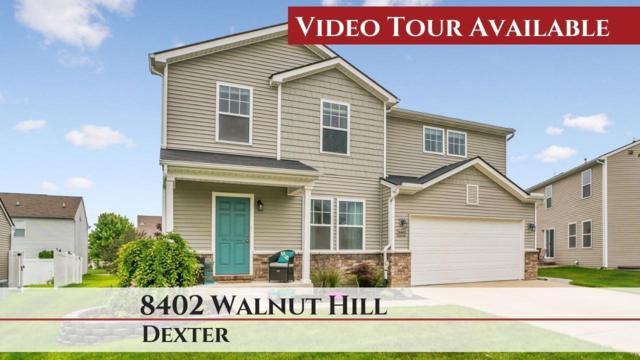 8402 Walnut Hl, Dexter, MI 48130 (MLS #3267216) :: The Tom Lipinski Team at Keller Williams Lakeside Market Center