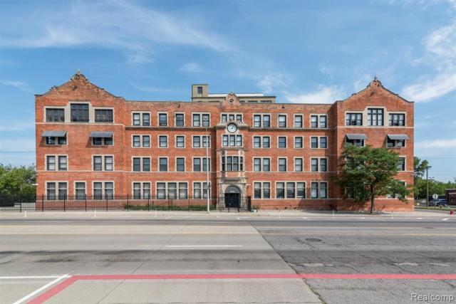 6533 E Jefferson Ave Unit#324, Detroit, MI 48207 (MLS #219066006) :: The Tom Lipinski Team at Keller Williams Lakeside Market Center