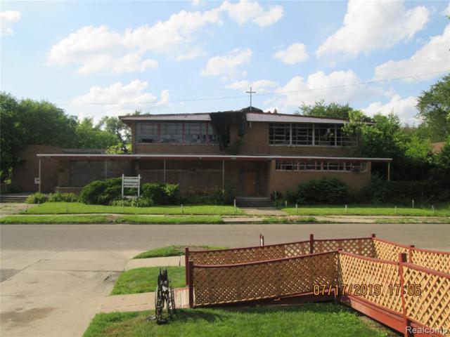 12261 Camden St, Detroit, MI 48213 (MLS #219071208) :: The John Wentworth Group