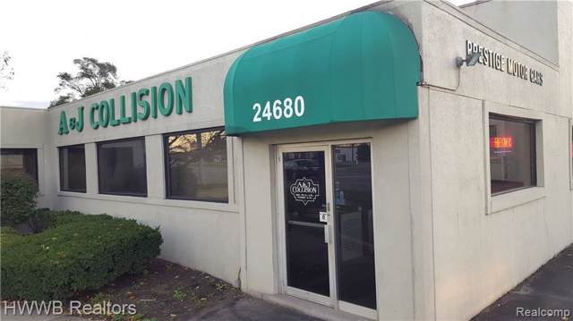 24680 Telegraph Rd, Southfield, MI 48033 (MLS #219080918) :: The Tom Lipinski Team at Keller Williams Lakeside Market Center