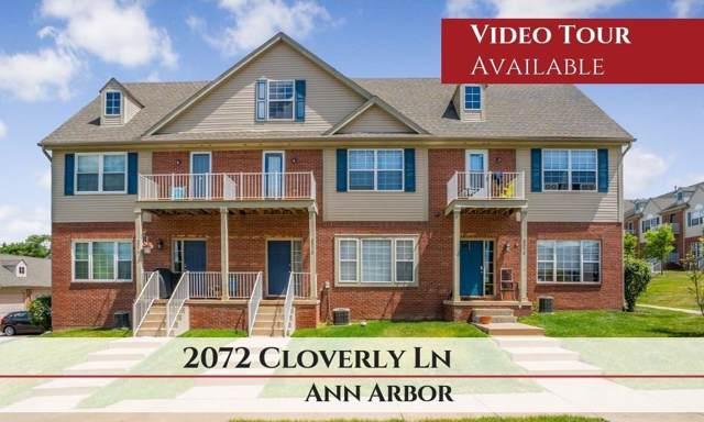 2072 Cloverly Ln, Ann Arbor, MI 48108 (MLS #3268024) :: The John Wentworth Group