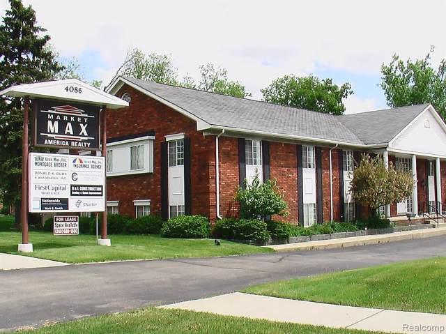 4086 Rochester Rd Unit#102, Troy, MI 48085 (MLS #219087328) :: The Tom Lipinski Team at Keller Williams Lakeside Market Center