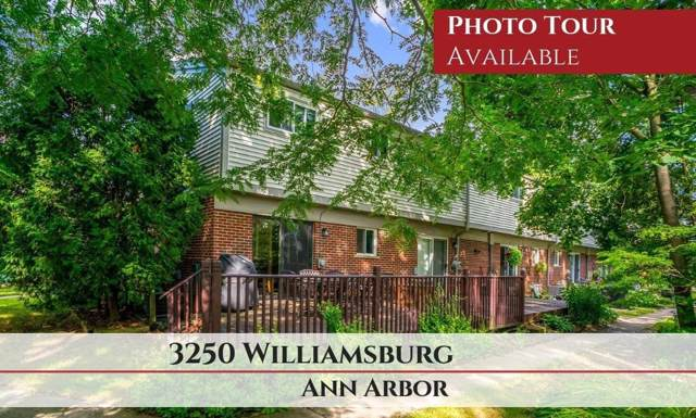 3250 Williamsburg, Ann Arbor, MI 48108 (MLS #3268546) :: The John Wentworth Group