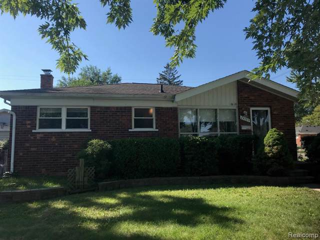 24705 Raven Ave, Eastpointe, MI 48021 (MLS #219096257) :: The John Wentworth Group