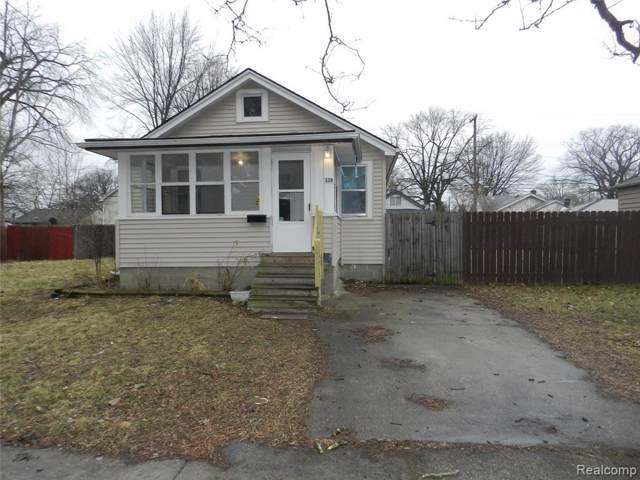 338 W Madge Ave, Hazel Park, MI 48030 (MLS #219096603) :: The John Wentworth Group