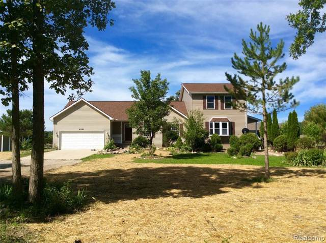 8791 Hough Rd, Almont, MI 48003 (MLS #219100944) :: The John Wentworth Group