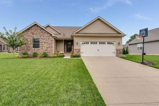 5308 Brookshire Dr, Almont, MI 48003 (MLS #219101630) :: The John Wentworth Group