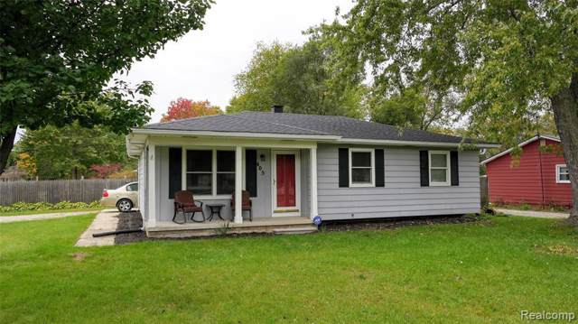 405 Crescent Ave, Holly, MI 48442 (MLS #219106186) :: The John Wentworth Group