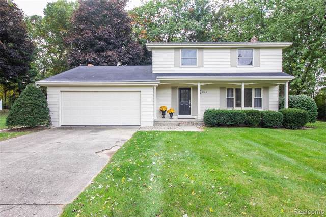 4164 Knollwood Dr, Grand Blanc, MI 48439 (MLS #219107379) :: The John Wentworth Group