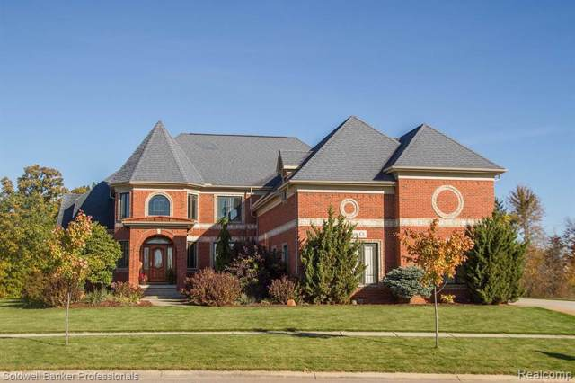 4400 Fulton Crt, Linden, MI 48451 (MLS #219107049) :: The John Wentworth Group