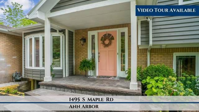 1495 S Maple Rd, Ann Arbor, MI 48103 (MLS #3269494) :: The John Wentworth Group