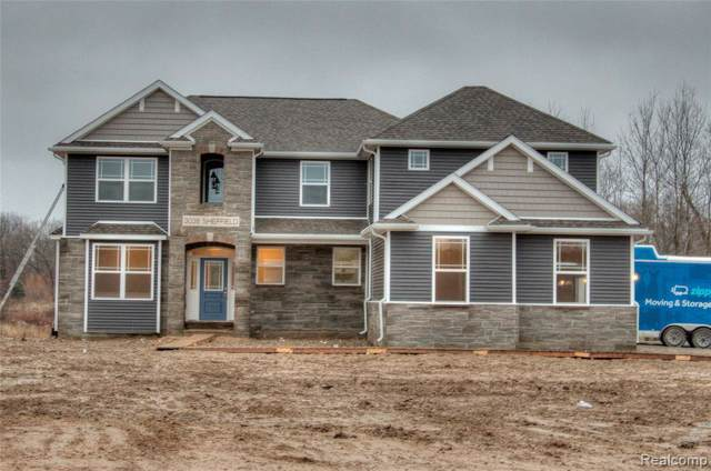 2316 Torrey Pine Ct (Lot 50), Howell, MI 48843 (MLS #219107815) :: The John Wentworth Group