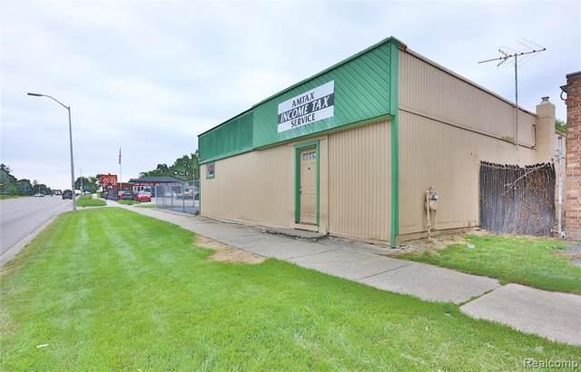 1175 Baldwin Ave, Pontiac, MI 48340 (MLS #219107860) :: The Tom Lipinski Team at Keller Williams Lakeside Market Center