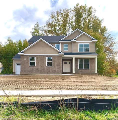 5822 Pond Hill Crt, Howell, MI 48843 (MLS #219107772) :: The John Wentworth Group