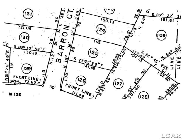 Lot 125 Barron Ct, Onsted, MI 49265 (MLS #31309991) :: The Tom Lipinski Team at Keller Williams Lakeside Market Center