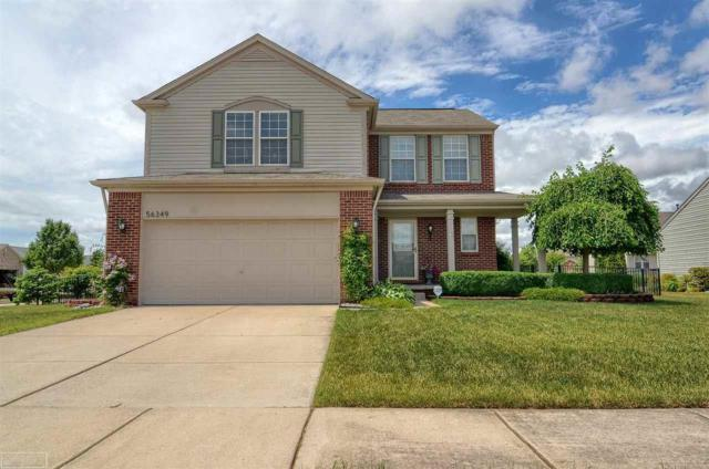 56349 Oasis Dr, Macomb, MI 48042 (MLS #31323602) :: The Peardon Team