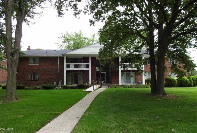 42424 Sheldon Place Unit 205, Clinton Township, MI 48038 (MLS #31326311) :: The Peardon Team