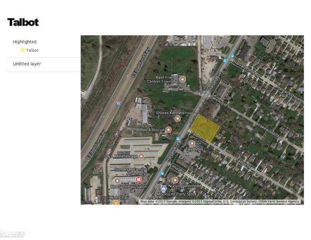 0 Talbot, Clinton Township, MI 48035 (MLS #31332815) :: The Tom Lipinski Team at Keller Williams Lakeside Market Center