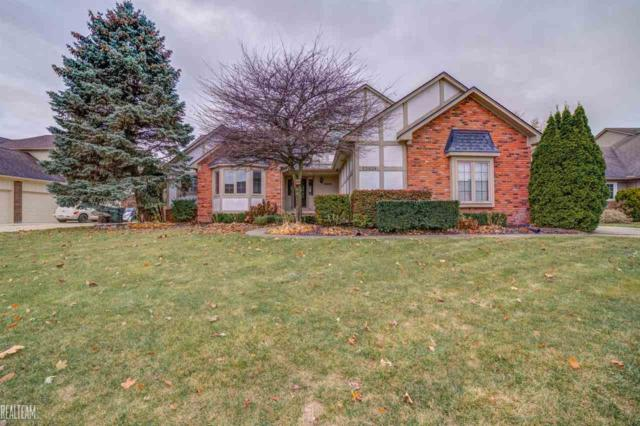 53839 Buckingham, Shelby Twp, MI 48316 (MLS #31335619) :: The Tom Lipinski Team at Keller Williams Lakeside Market Center