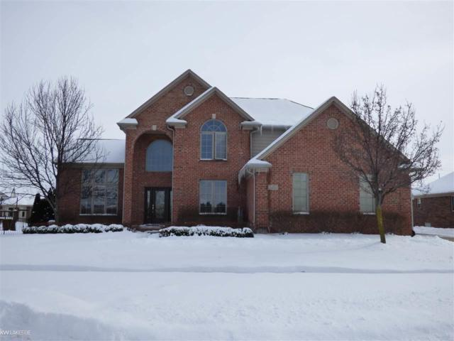 21450 Bunker Dr, Macomb Twp, MI 48042 (MLS #31340254) :: The Peardon Team