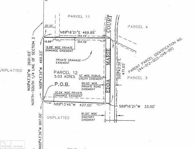 12 Edda Marie Court, Lapeer, MI 48446 (MLS #31347880) :: The John Wentworth Group