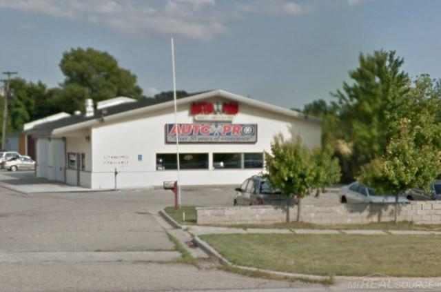 1447 Gratiot Auto Pro Auto S, Clinton Township, MI 48036 (MLS #31357253) :: The Tom Lipinski Team at Keller Williams Lakeside Market Center
