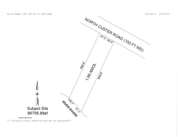 0 N Custer Road, Monroe, MI 48162 (MLS #31381159) :: The John Wentworth Group