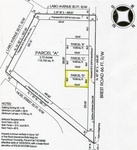 0 Brest Road Lot D, Newport, MI 48166 (MLS #31383660) :: The Tom Lipinski Team at Keller Williams Lakeside Market Center