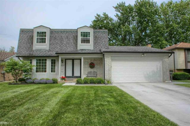 39568 Baroque, Clinton Township, MI 48038 (MLS #31384569) :: The Tom Lipinski Team at Keller Williams Lakeside Market Center