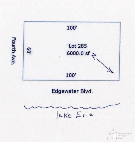 0 Edgewater, Monroe, MI 48162 (MLS #31390170) :: The Tom Lipinski Team at Keller Williams Lakeside Market Center