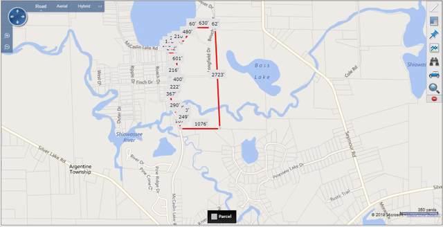 Mccaslin Lake Road Longfield Road, Linden, MI 48451 (MLS #31391545) :: The John Wentworth Group