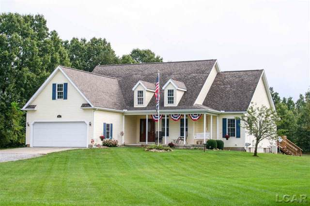 2586 E Valley Rd, Adrian, MI 49221 (MLS #31394736) :: The John Wentworth Group