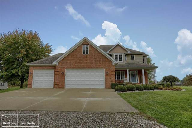 8765 Hough, Almont, MI 48003 (MLS #31396821) :: The John Wentworth Group