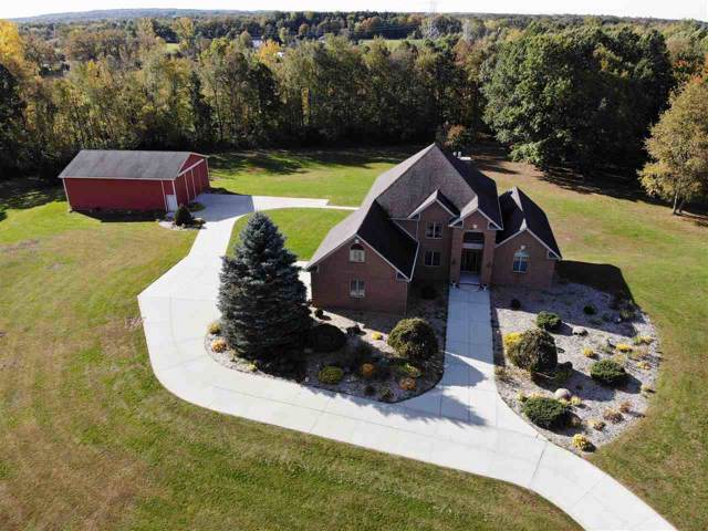 1746 Rooster Trail, Lapeer, MI 48446 (MLS #31397833) :: The John Wentworth Group