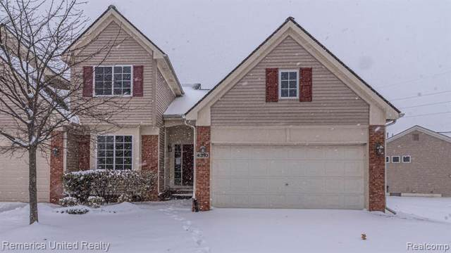 4310 Aster Blvd, Howell, MI 48843 (MLS #219115822) :: The John Wentworth Group