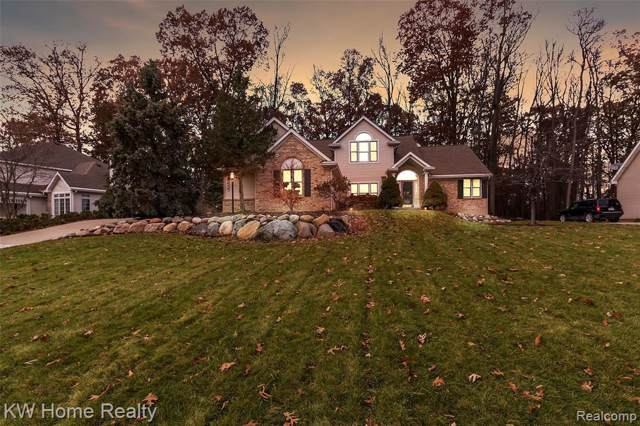 3474 Lakewood Shores Dr, Howell, MI 48843 (MLS #219118844) :: The John Wentworth Group