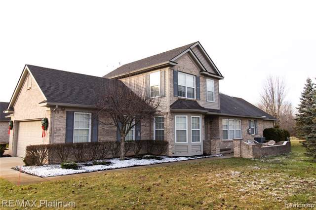5417 Ivy Ct. Unit#44, Howell, MI 48843 (MLS #219120159) :: The John Wentworth Group
