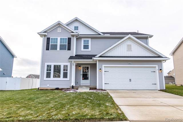 3677 Amber Oaks Dr, Howell, MI 48855 (MLS #219117267) :: The John Wentworth Group