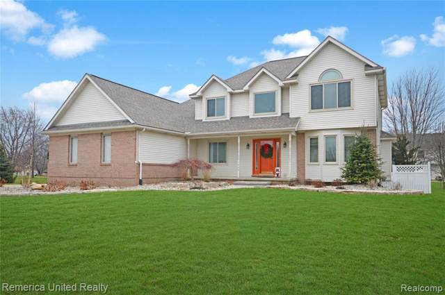 1346 Baywood Cir, Brighton, MI 48116 (MLS #219121408) :: The John Wentworth Group